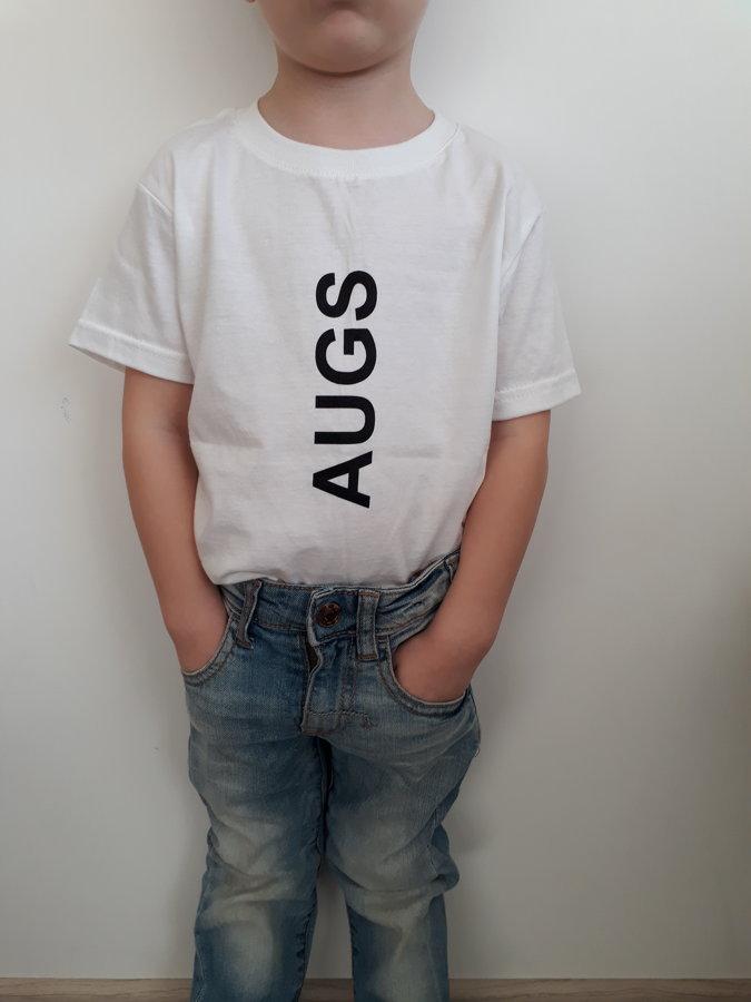 """T-krekls bērniem """"AUGS"""""""